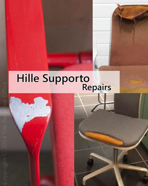 hille supporto chair repairs
