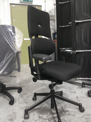 how to fix office chair